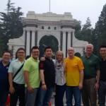 2013年9月: 北京清华大学拜访大卫貝林博士